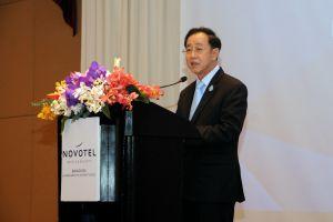 """สัมมนา""""ระบบผู้จัดการความปลอดภัยการขนส่งในประเทศญี่ปุ่นสู่ผู้ประกอบการรถโดยสารในประเทศไทย"""""""