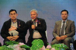 ขบ ร่วมกับผู้แทนภาคีเครือข่าย แถลงข่าวสงกรานต์วิถีไทย
