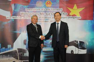 สาธารณรัฐสังคมนิยมเวียดนาม ศึกษาดูงานด้านการขนส่งทางบก ขบ.