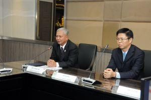 ที่ปรึกษาทูตและกงสุลใหญ่จีนร่วมหารือมาตรการเพื่อความปลอดภัย ขบ.