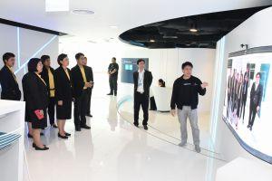 กรมการขนส่งทางบก ศึกษาดูงานศึกษาดูงาน Krungthai innovation Lap