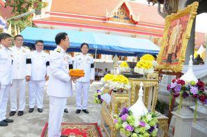 กระทรวงคมนาคม ถวายผ้าพระกฐินพระราชทาน ประจำปี 2559