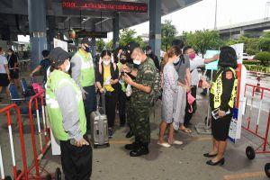 ลงพื้นที่อำนวยความสะดวกและความปลอดภัยของประชาชนในการเดินทาง ในช่วงวันหยุดต่อเนื่องระหว่างวันที่ 25 - 28 กรกฎาคม 2563