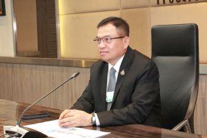 นายยงยุทธ นาคแดง รองอธิบดีกรมการขนส่งทางบก ให้สัมภาษณ์สดผ่านระบบ Zoom meeting ในรายการ เมืองไทยใหญ่อุดม
