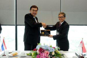 ศึกษาดูงานและหารือแลกเปลี่ยนประสบการณ์คมนาคมอินโดนีเซียกับกรมการขนส่งทางบก