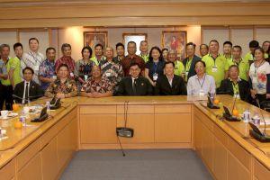 คณะผู้แทนภาครัฐอินโดนีเซีย ภาคเอกชนอินโดนีเซีย และภาคเอกชนมาเลเซีย เยี่ยมชมและดูงาน