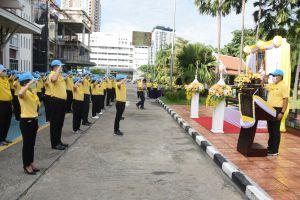 """จัดกิจกรรมจิตอาสาพระราชทาน """"ทำความดีเพื่อชาติ ศาสน์ กษัตริย์ ขนส่งทั่วไทยพร้อมใจ Big Cleaning"""