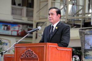 พลเอกประยุทธ์ นายกรัฐมนตรี เป็นประธานในพิธีเปิดเดินรถโดยสารชั้น 3 ปรับปรุงใหม่ของการรถไฟแห่งประเทศไทย