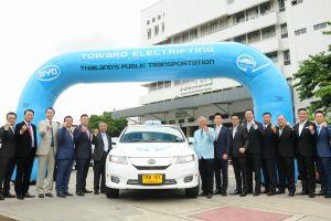 เปิดตัว EV Taxi VIP 101 คันแรกของประเทศไทย
