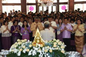 กรมการขนส่งทางบก จัดงานสงกรานต์วิถีไทย ร่วมสืบสานวัฒนธรรมประเพณีสงกรานต์ ประจำปี 2561