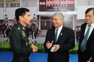 อขบ. ร่วมแสดงความยินดี วันสถาปนากองพลทหารม้าที่ 2 รักษาพระองค์ ครบรอบ 37 ปี