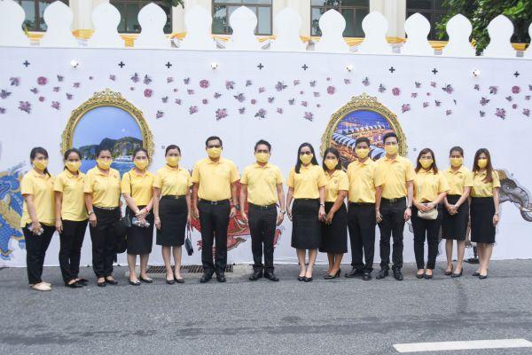 """พิธีเปิดนิทรรศการและกิจกรรมเฉลิมพระเกียรติพระบาทสมเด็จพระเจ้าอยู่หัว เนื่องในโอกาสวันเฉลิมพระชนมพรรษา 28 กรกฎาคม 2563  ภายใต้ชื่อ""""เถลิงฉัตรกษัตรา เฉลิมพระชนม์ 68 พรรษา ทศมราชัน"""""""